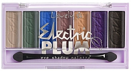 Fragrances, Perfumes, Cosmetics Eyeshadow Palette - Lovely Electric Plum Eyeshadow