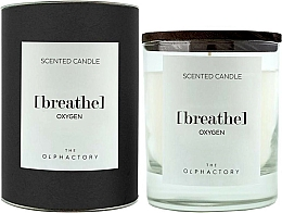 Fragrances, Perfumes, Cosmetics Scented Candle - Ambientair The Olphactory Black Design Breathe Oxygen