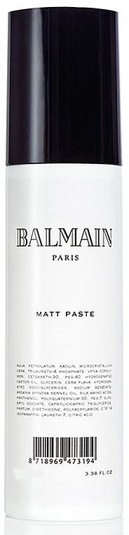 Mattifying Hair Paste - Balmain Paris Hair Couture Matt Paste
