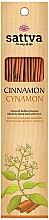 "Fragrances, Perfumes, Cosmetics Incense Sticks ""Cinnamon"" - Sattva Cinnamon"