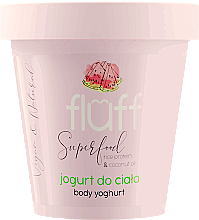 "Fragrances, Perfumes, Cosmetics Body Yogurt ""Watermelon"" - Fluff Body Yogurt Watermelon"