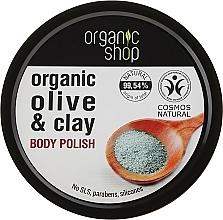 """Fragrances, Perfumes, Cosmetics Body Scrub """"Blue Clay"""" - Organic Shop Body Scrub Organic Olive & Clay"""