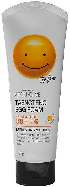 Egg Yolk Cleansing Gel - Welcos Around Me Egg Foam