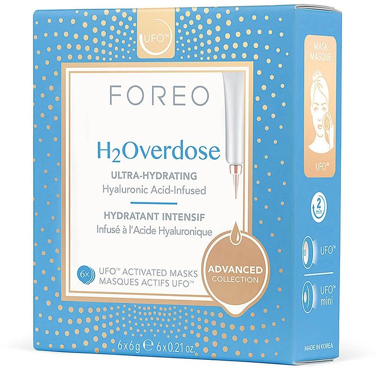 Intensive Moisturizing Nourishing Mask - Foreo Ufo H2Overdose Mask