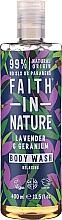 Fragrances, Perfumes, Cosmetics Shower Gel - Faith in Nature Lavender & Geranium Body Wash