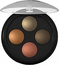 Fragrances, Perfumes, Cosmetics Eyeshadow - Lavera Illuminating Eyeshadow Quattro