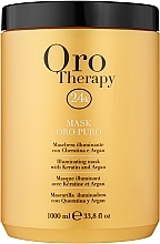Fragrances, Perfumes, Cosmetics Repair Active Gold Microparticles Mask - Fanola Oro Therapy Oro Puro Mask