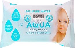 Fragrances, Perfumes, Cosmetics Moisturizing Baby Wipes - Beauty Formulas Aqua Baby Wipes