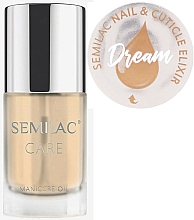 Fragrances, Perfumes, Cosmetics Nail & Cuticle Oil-Elixir Scented with Citrus - Semilac Care Nail & Cuticle Elixir Dream