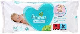 """Fragrances, Perfumes, Cosmetics Baby Wet Wipes with Lid """"Sensitive"""" - Pampers"""