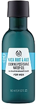 Fragrances, Perfumes, Cosmetics After Shave Maca Root & Aloe Gel - The Body Shop Maca Root & Aloe Post-Shave Water-Gel For Men