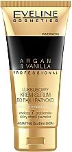 Fragrances, Perfumes, Cosmetics Hands & Nails Cream-Serum - Eveline Cosmetics Spa Professional Argan&Vanilla