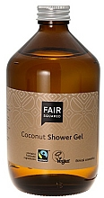 "Fragrances, Perfumes, Cosmetics Shower Gel ""Coconut"" - Fair Squared Coconut Shower Gel"