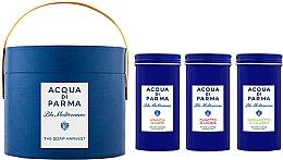 Fragrances, Perfumes, Cosmetics Acqua di Parma Blu Mediterraneo - Set (soap/3x70g)