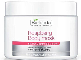 Fragrances, Perfumes, Cosmetics Body Mask - Bielenda Professional Raspberry With Guarana Bio-Caffeine Body Mask