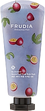 Fragrances, Perfumes, Cosmetics Passionfruit Scented Scrab Body Wash - Frudia My Orchard Passion Fruit Scrub Body Wash