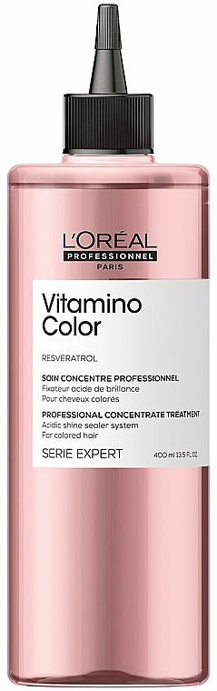 Professional Hair Concentrate - L'Oreal Professionnel Serie Expert Vitamino Color Resveratrol Concentrate Treatment — photo N1