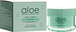 Fragrances, Perfumes, Cosmetics Aloe Vera Extract Face Cream - Holika Holika Aloe Soothing Essence 80% Moist Cream