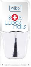 Fragrances, Perfumes, Cosmetics Extra Damaged Nail Regenerating Conditioner - Wibo S.O.S. Weak Nails