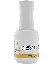 Fragrances, Perfumes, Cosmetics Gel Polish Top Coat - Elisium Diamond Liquid 4 Top Coat