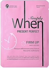 Fragrances, Perfumes, Cosmetics Firming Face Mask for Mature Skin - When Simply Present Perfect