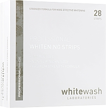 Fragrances, Perfumes, Cosmetics Professional Whitening Strips - WhiteWash Laboratories Professional Whitening Strips