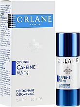 Fragrances, Perfumes, Cosmetics Caffeine Serum Concentrate for Face - Orlane Supradose Concentrate Caffeine Detoxifying