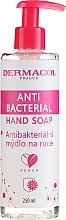 Fragrances, Perfumes, Cosmetics Antibacterial Liquid Hand Soap - Dermacol Anti Bacterial Hand Soap