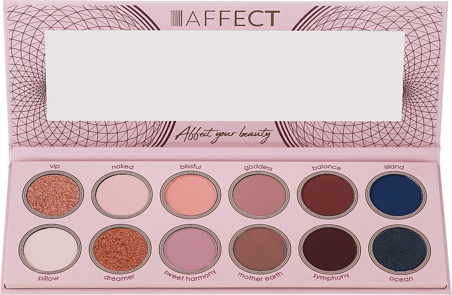 Eyeshadow Palette - Affect Cosmetics Sweet Harmony