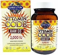 Fragrances, Perfumes, Cosmetics Food Supplement - Garden of Life Vitamin Code Raw D3, 50 mcg