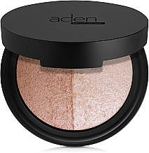 Fragrances, Perfumes, Cosmetics Face Palette - Aden Cosmetics Highlighter & Bronzer Duo