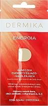 """Fragrances, Perfumes, Cosmetics Energizing Mask """"Energy"""" for Dull & Tired Skin - Dermika Energizing and Moisturizing Mask"""
