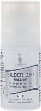"Fragrances, Perfumes, Cosmetics Roll-On Antiperspirant Deodorant ""Mild"" - Bioturm Silver Mild Deo Roll-On No.38"