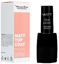 Fragrances, Perfumes, Cosmetics Mattifying Top Coat - Pierre Rene Matt Top Coat Matting Effect
