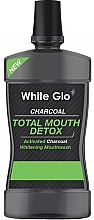 Fragrances, Perfumes, Cosmetics Mouthwash - White Glo Charcoal Total Mouth Detox Mouthwash