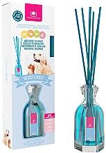 "Fragrances, Perfumes, Cosmetics Pet Odor Eliminator Reed Diffuser ""Fresh Air"" - Cristalinas Reed Diffuser"