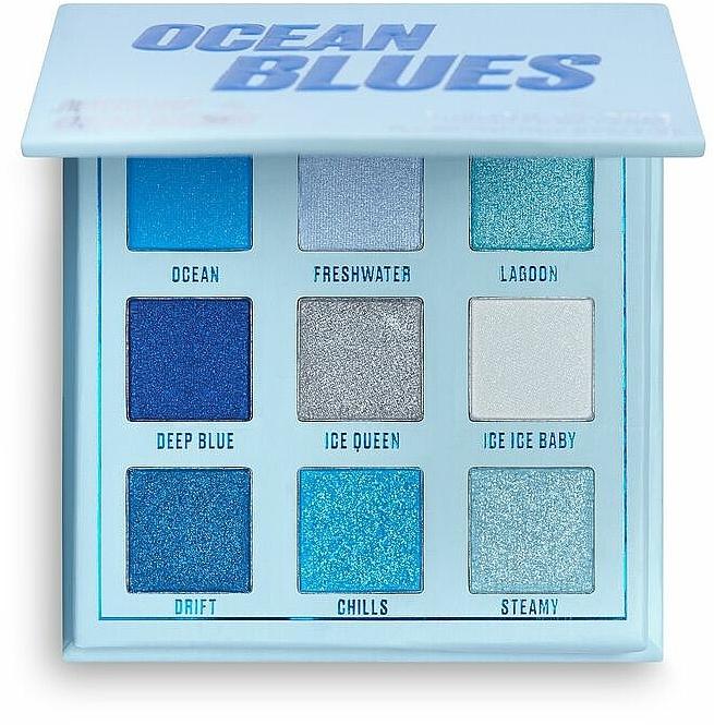 Eyeshdow Palette - Makeup Obsession Ocean Blues Eyeshadow Palette