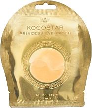Fragrances, Perfumes, Cosmetics Hydrogel Eye Patches, golden - Kocostar Princess Eye Patch Gold