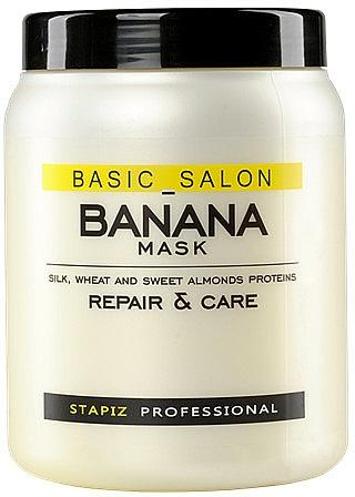 Damaged Hair Mask - Stapiz Basic Salon Banana Mask