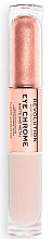 Fragrances, Perfumes, Cosmetics Liquid Eyeshadow - Makeup Revolution Eye Chrome Liquid Eyeshadow