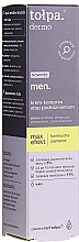 Fragrances, Perfumes, Cosmetics Anti-Irritation Night Cream-Compress - Tolpa Dermo Men Max Effect Cream Compress
