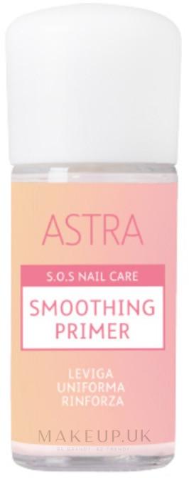 Smoothing Nail Primer - Astra Make-up Sos Nails Care Smoothing Primer — photo 02 - Natural Pink