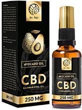 Fragrances, Perfumes, Cosmetics Natural Avocado Oil Bio CBD 250mg - Dr. T&J Bio Oil