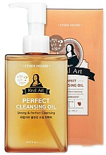 Fragrances, Perfumes, Cosmetics Hydrophilic Oil - Etude House Real Art Cleansing Oil Perfect