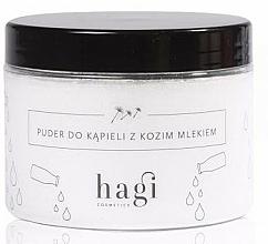 Fragrances, Perfumes, Cosmetics Goat Milk Bath Powder - Hagi Bath Puder