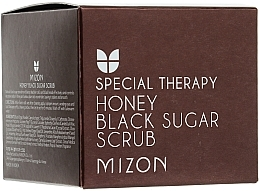 Fragrances, Perfumes, Cosmetics Black Sugar & Honey Scrub - Mizon Honey Black Sugar Scrub