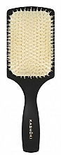 Fragrances, Perfumes, Cosmetics Natural Bristle Hair Brush, rectangular - Kashoki