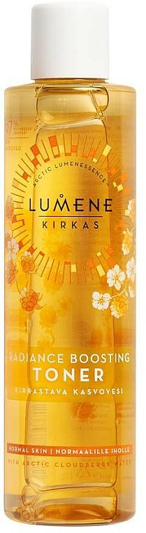Cleansing Toner - Lumene Kirkas Radiance Boosting Clarifying Toner