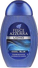 """Fragrances, Perfumes, Cosmetics Shampoo and Shower Gel """"Cool Blue"""" - Paglieri Felce Azzurra Shampoo And Shower Gel For Man"""