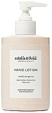 Fragrances, Perfumes, Cosmetics Hand Lotion - Estelle & Thild Vanilla Tangerine Hand Lotion